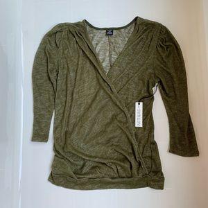 - Astars Green Light Crossover sweater